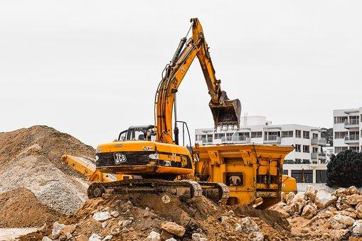 Niebezpieczne i groźne wykonywanie budowy, robót budowlanych nieruchomości, domu czy budynku