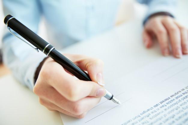 Podpisanie protokołu odbioru robót i prac budowlanych zobowiązującego do zapłaty